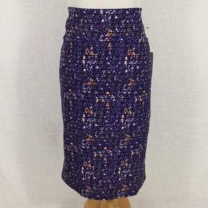 NWT LuLaRoe Cassie - pretty in purple